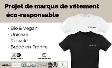 Visuel du projet PROJET DE MARQUE ECO-RESPONSABLE - YOUTH