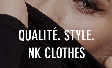 Project visual Marque de vêtement à production locale et éthique