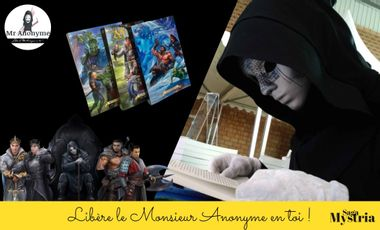 Project visual L'univers de Monsieur Anonyme