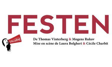 Visueel van project FESTEN, Cie du Vacarme
