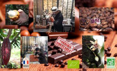 Project visual Créer une école et un laboratoire partagé dédié au chocolat bean to bar