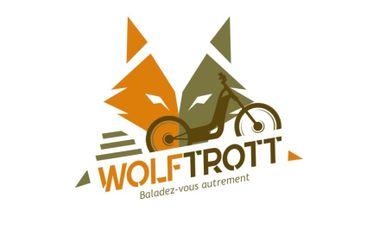 """Visuel du projet Wolf Trott : """"Baladez vous autrement"""""""