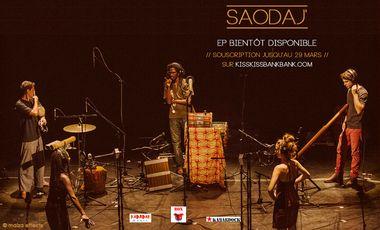 Visueel van project Saodaj' /  premier EP