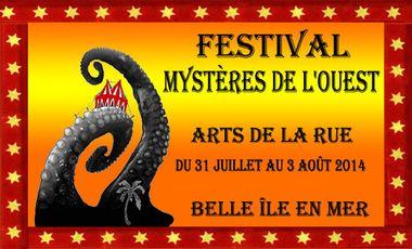 Visuel du projet Festival Mystères de l'Ouest, Belle-île-en-mer, 2ème édition