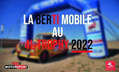 Visueel van project Berti MotorSport - 4L Trophy 2022