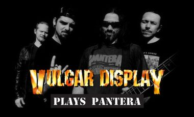 Visueel van project Vulgar Display (Cover Band Pantera) - Live