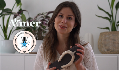 Visueel van project AYMER - Les sandales végétales qui durent et que l'on peut planter.