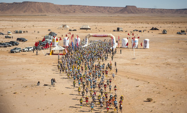 Visueel van project CROWDFUNDING MARATHON DES SABLES 2021