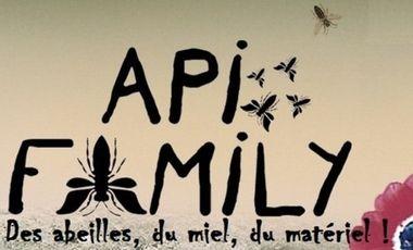Visuel du projet Api-Family: des abeilles, du miel: du matériel!