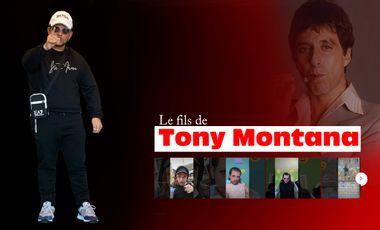 Project visual La web série du fils de Tony Montana