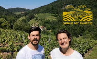 Visueel van project Domaine des Sonnettes, bio wijngaarden en natuurlijke wijn in de Bugey