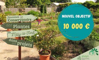 Project visual Soutenez le Conservatoire des Plantes de Milly-la-Forêt