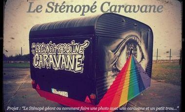 Project visual Le sténopé caravane ou comment faire une photo avec une caravane et un petit trou...