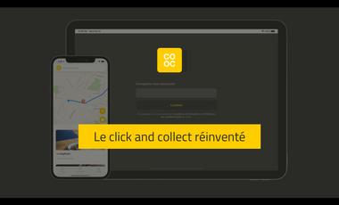 Visueel van project COOC - L'application de vente de plats à emporter solidaire