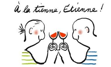 Project visual À la tienne, Étienne !