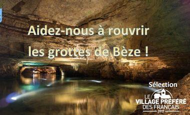 Project visual Sécurisation des Grottes de Bèze