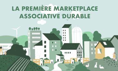 Visueel van project La première Marketplace associative durable