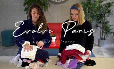 Project visual Evolve Paris, des pièces uniques à partir de vêtements de seconde main
