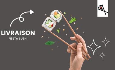 Visueel van project Développer un projet de service de vente à emporter et livraison de sushi