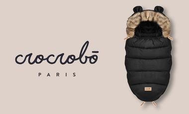 Visuel du projet Crocrobō, la chancelière poussette universelle éco au design made in France 🇫🇷