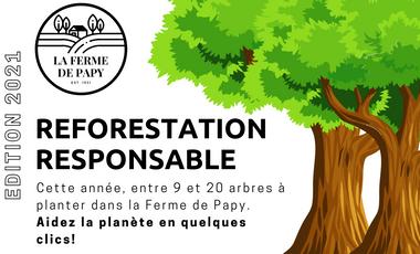Visueel van project La Ferme de Papy l Reforestation Responsable