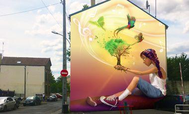 Project visual Du street art à Meaux