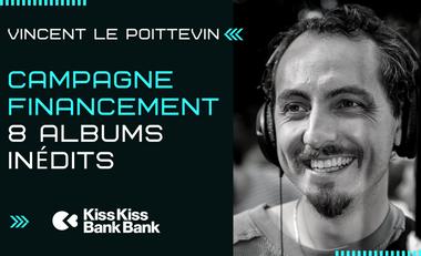 Visuel du projet Vincent Le Poittevin - 8 Albums Inédits
