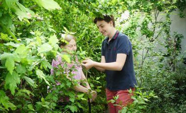 Visueel van project JardiShare, l'appli qui allie rencontre et jardinage