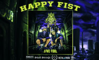 Project visual Live Fire : le nouvel album d'Happy Fist