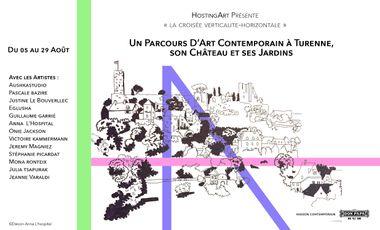 Project visual Un Parcours d'Art Contemporain à Turenne, son Château et ses Jardins