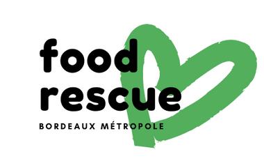Visueel van project Food Rescue : vélo-cargo anti-gaspi contre la précarité étudiante