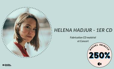 Project visual Helena Hadjur - 1rst CD + Concert