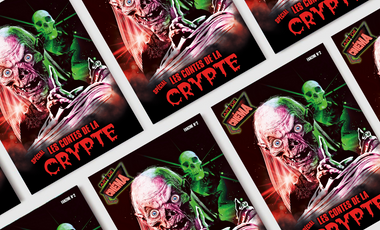 Visuel du projet Fanzine Spécial Les contes de la crypte
