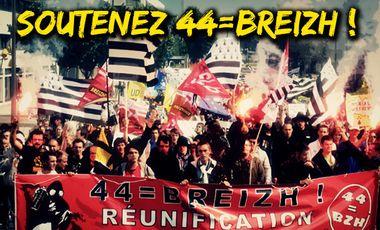 Visuel du projet Soutenez 44=BREIZH avant la manif du 19 avril à Nantes !