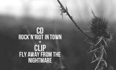 Visueel van project The Angry Cats - Nouveau CD + Clip