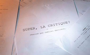 """Project visual Court-métrage """"Super, la critique !"""""""