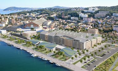 Visueel van project Bâtissons la Cité de la Mer en Méditerranée