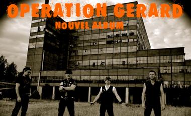Visueel van project réalisation du nouvel album d'OPERATION GERARD