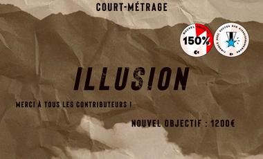 Visuel du projet Illusion - Court-métrage