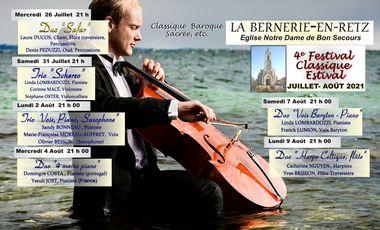 Visueel van project 4ème Festival Classique Estival la Bernerie-en-Retz