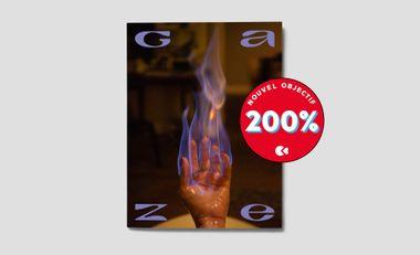 Visueel van project Gaze, the magazine of female perspectives : N°2!
