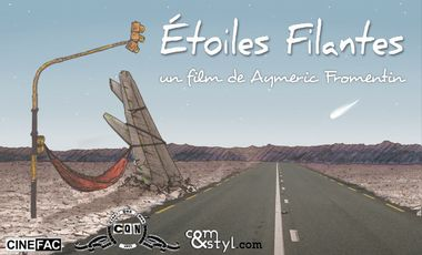 Project visual Étoiles Filantes