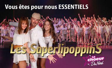 Visuel du projet Soutien Album Les Saperlipoppins et Le Choeur du Nord