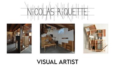 """Visuel du projet """"Incipit - Solo Show Nicolas Riquette"""""""