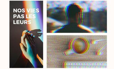 Project visual Nos vies pas les leurs