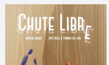 """Visuel du projet """"Chute Libre"""""""