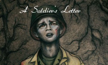 Project visual A Soldier's Letter