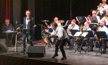 "Visueel van project Middle Jazz Orchestra : Album ""Christmas Jazz"""