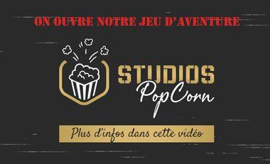Visuel du projet Studios PopCorn : Jeu d'aventure en équipe