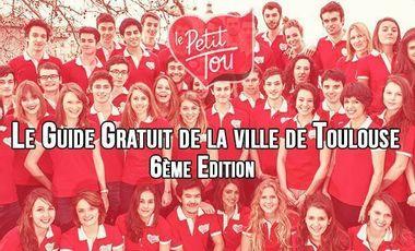 Project visual 6ème édition du guide toulousain Le Petit Tou